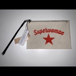 Authentic Rebecca Minkoff superwomen clutch pouch